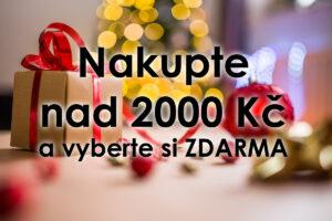 Speciální nabídka nad 2000 Kč